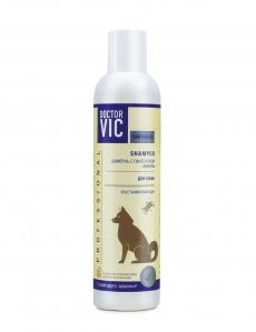 Шампунь Doctor VIC с пантенолом «Ваниль» для собак всех пород, 250/5000 мл